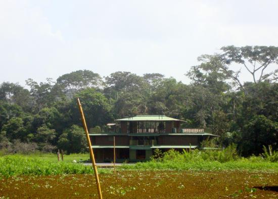 Jungle Land Panama: Day Excursions: maison flottante