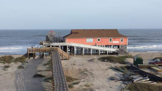 Rodanthe, NC: view from the top deck