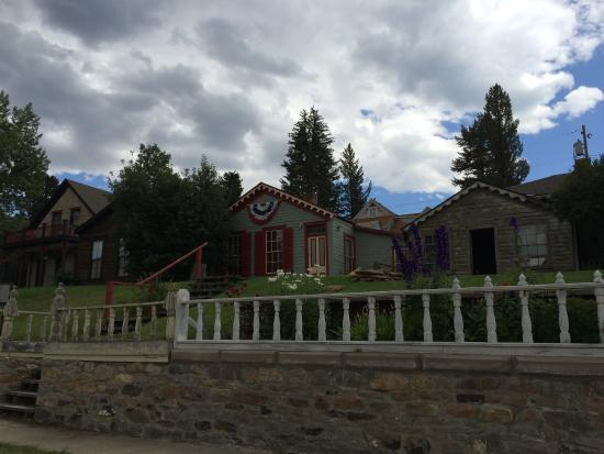 Virginia City, MT: Governor's home at one time