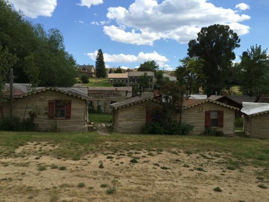 Virginia City, MT: Miner's cabins