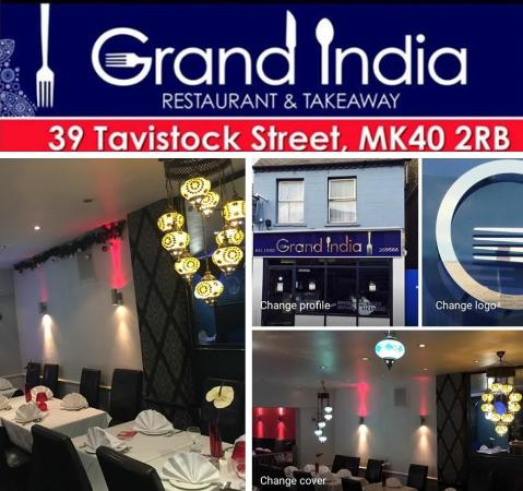 Grand India Restaurant, Bedford - Menu, Prices & Restaurant