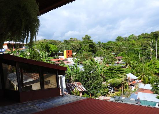 Natural Pacific Suites : Roof deck view
