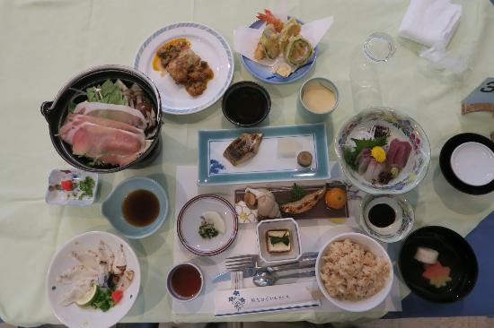 Shuhokan: 夕食
