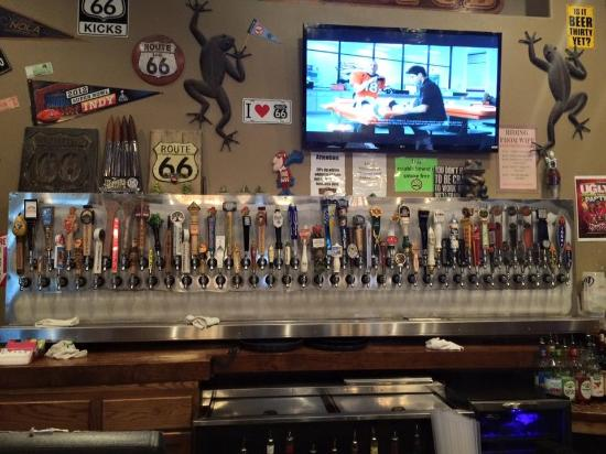 Hoppers Pub: 66 beers on tap!