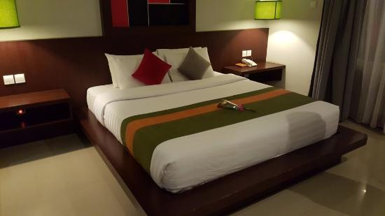 Samaja Beachside Villas: Comfortable bed