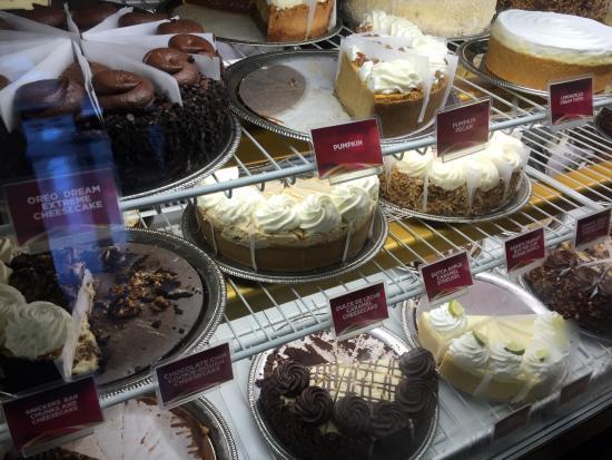 The Cheesecake Factory: As delícias