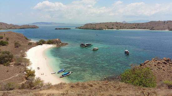Komodo, Indonesia: View from hill