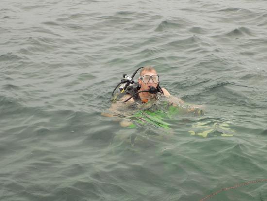 La Buga Dive Center & Surf School: I'm ready. Let's go!!