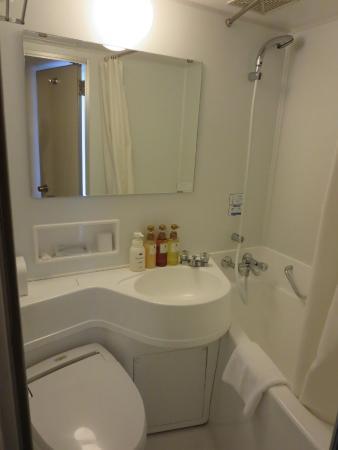 Shinagawa Prince Hotel Tokyo Pod Bathroom Small Shower Stall Amazing Toilet