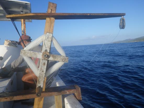 Savasi Island Villas: Fishing