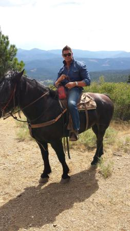 Greenhorn Creek Guest Ranch: view from Penny Pines