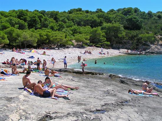 Comisa, Croatie : uvala srebrena  otok Vis