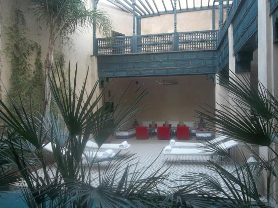 Hotel & Spa Riad Dar Bensouda: vista sala de estar
