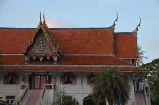 Kui Buri, Таиланд: Building for monks to pray