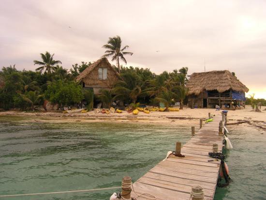 Glover's Atoll Resort: Pomost