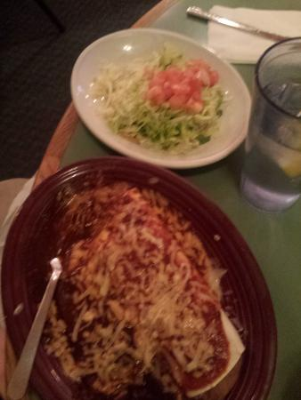 Stoughton, WI: Nephews Dinner, sorry forget what he ordered but it was veggie