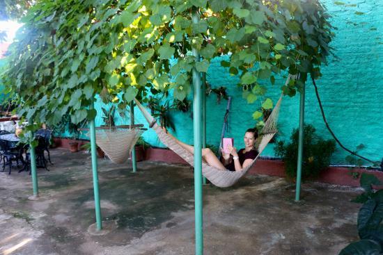 Hostal Ida: Outdoor area