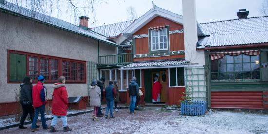 Carl Larsson-garden: Carl Larsson Gården i vinterskrud