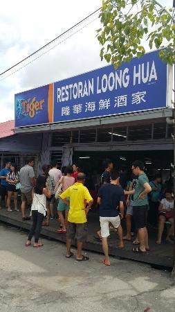 Sekinchan seafood restaurant
