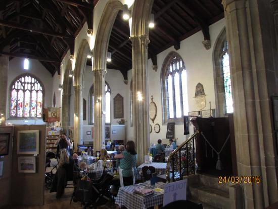 St. Peter's Church: Cafe in interior.