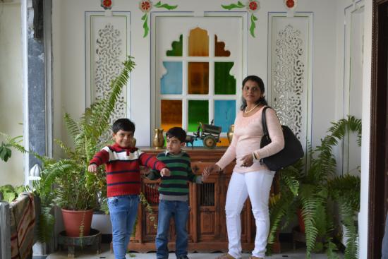 Hotel Mahendra Prakash : Common areas