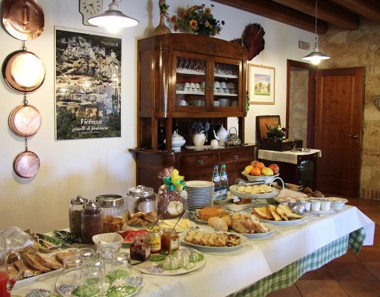 Agriturismo Fattoria Grimana: colazione