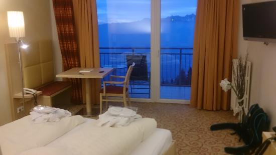 Sonnenhotel Zaubek: Panorama Doppelzimmer mit Balkon