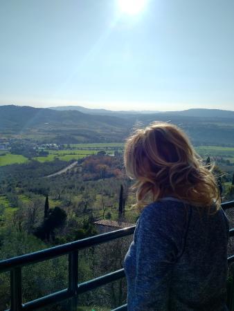 Hotel Villa Clodia: Panorama dalla camera
