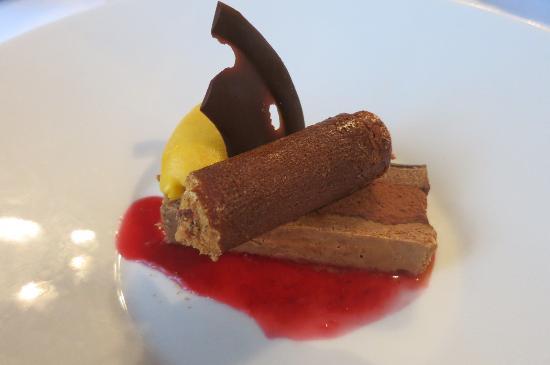 Grambois, France: croustillant de chocolats
