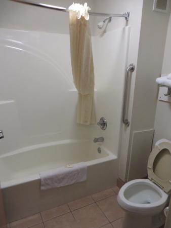 Comfort Inn Kalamazoo: Bathroom