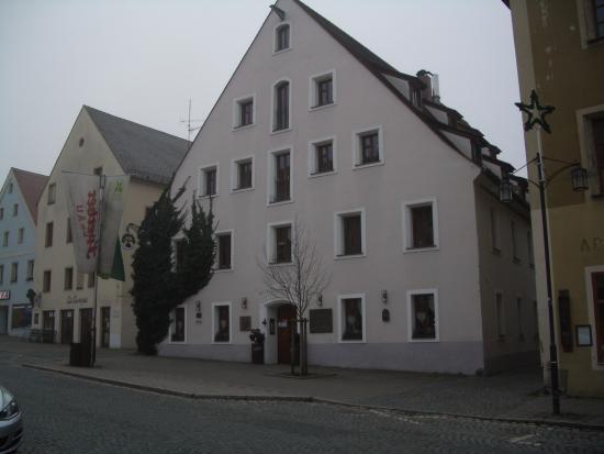 Sulzbach-Rosenberg, Duitsland: facade principale de l'hôtel