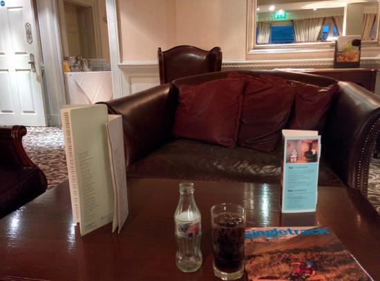 Fawkham, UK: Table at dinner