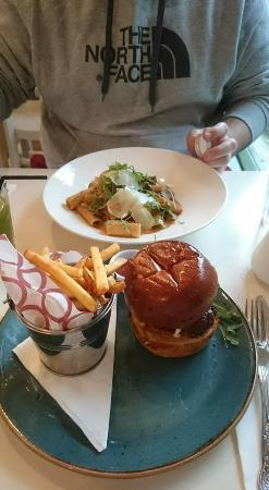 The Garden Cafe: our meals