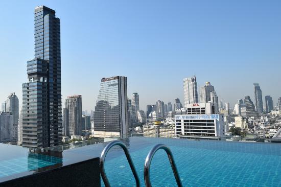 Vista da piscina picture of amara bangkok bangkok tripadvisor - Hotel bangkok piscina ...