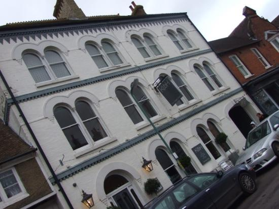 Wye, UK: facade