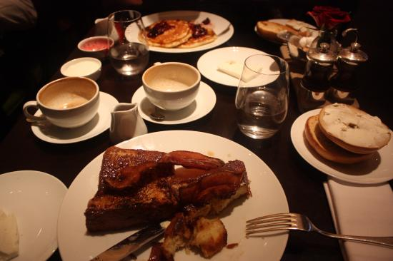 Gramercy Tavern: French toast and pancakes