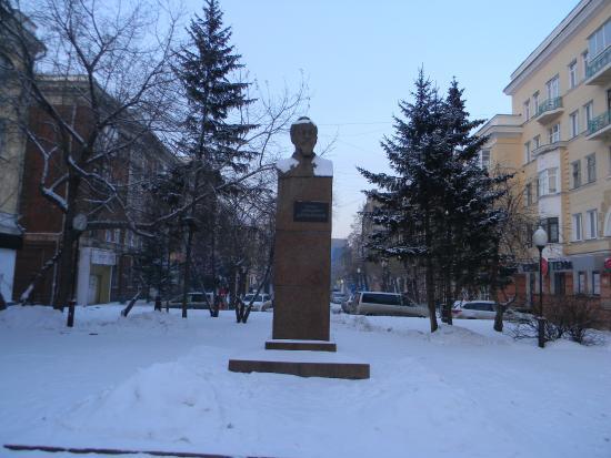 Monument F.E. Dzerzhinskiy