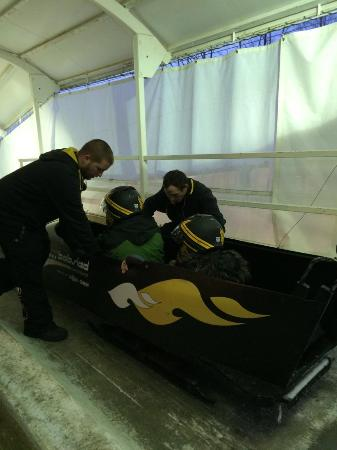 Bobsled and Luge Complex Photo