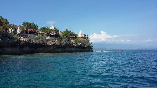 West Bali National Park, Indonesien: menjangan island and temple