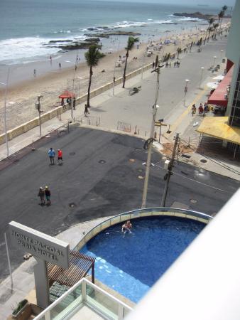 Monte Pascoal Praia Hotel Salvador: Vista desde la habitacion