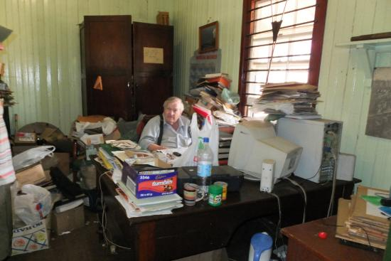 Bulawayo Railway Museum: Gordon, the curator