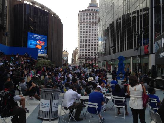 Outside Food Park Picture Of Madison Square Garden New York City Tripadvisor