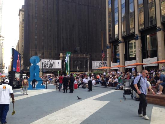 Outside Food Park Picture Of Madison Square Garden New