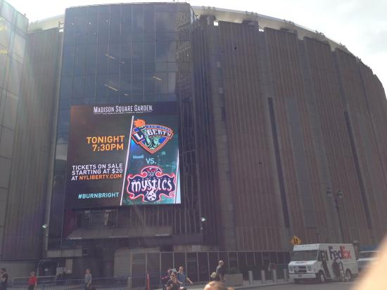 The Place Picture Of Madison Square Garden New York City Tripadvisor