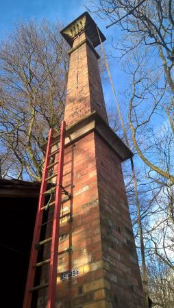 Bolton, UK: The Chimney Fred built.