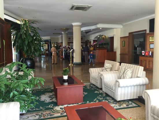 Grand Hotel: Reading area