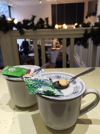 Tea over the balcony
