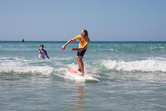 Lucero Surf Retreats: Surfing