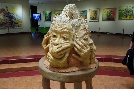 Koleksi di Museum Affandi, Yogyakarta