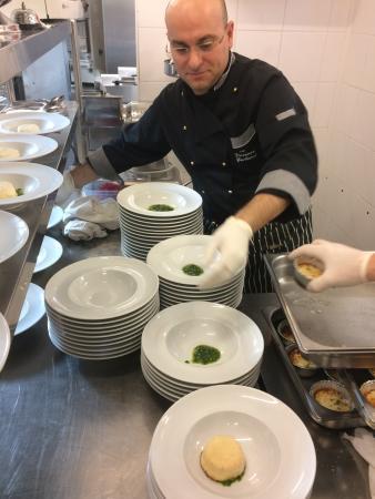 Hotel Jole: la preparazione in cucina